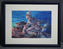 Nausicaa DVD Collectors Box Watercolor Painting Front.jpg